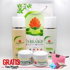 Toko Promo Theraskin Oily Whitening Paket Theraskin Untuk Kulit Berminyak Gratis Pouch Lengkap