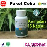 Harga Promo Tiens Paket Coba Masker Spirulina Kemasan Ecer Isi 15 Kapsul Distributor Resmi Tiens Fa Herbal Baru
