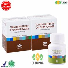Jual Promo Tiens Paket Peninggi Badan 2 Box Nutrient High Calcium 1 Bottle Zinc 100 Herbal Tiens Market Murah