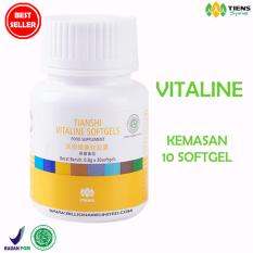 Jual Promo Tiens Suplemen Pemutih Wajah Tubuh Vitaline Vitamin E 10 Kapsul Kemasan Eceran Online Jawa Timur