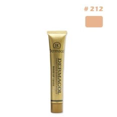Promotion Details about Dermacol Waterproof High Covering Conceal Make up Foundation Fil - intl