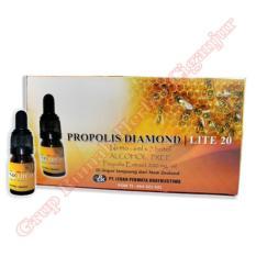 Propolis Diamond Lite 20 - (Paket 1 bok isi 7 botol)