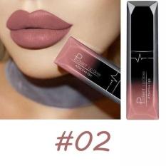 PUDAIER Waterproof Batom Velvet Liquid Lipstik Sexy Red Lip Tint 21 Color Lip Balm Makeup Tahan Lama Matte Nude Gloss Lipgloss 02 Warna-Intl