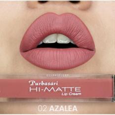 Purbasari Hi Matte Lip Cream 02 - Azalea
