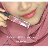 Spesifikasi Purbasari Hi Matte Lip Cream Warna 02 Azalea Beserta Harganya
