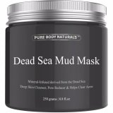 Jual Pure Body Naturals Beauty Dead Sea Mud Mask For F*c**l Treatment Masker Muka Pure Body Naturals Online