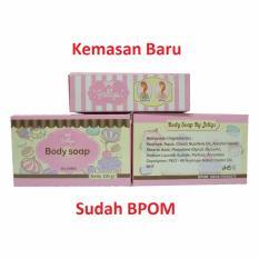 Pure Soap by Jellys - Sabun Pemutih Muka Dan Badan - 100 gr Free Jepitan Rambut