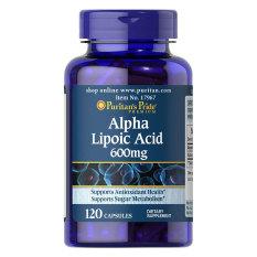 Promo Puritan Alpha Lipoic Acid 600Mg 120 Kapsul Di Indonesia
