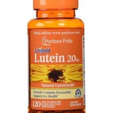 Harga Puritan Pride Lutein 20 Mg With Zeaxanthin Kesehatan Mata 30 Capsule Termurah