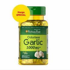 Promo Puritan Pride Odorless Garlic 1000Mg Isi 100 Kapsul Original Usa Puritan Pride