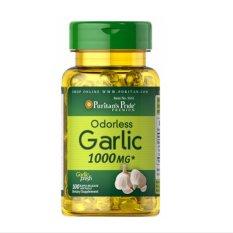 Harga Puritan Pride Odourless Garlic 1000 Mg 100 Softgel Paling Murah