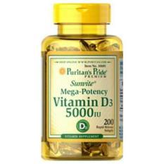 Toko Puritan Pride Vitamin D3 5000 Iu Isi 200 Terdekat