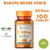 Jual Puritan S Pride Vitamin C 500Mg With Bioflavonoids And Rose Hips 100 Kaplet Baru