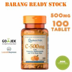 Toko Puritan S Pride Vitamin C 500Mg With Bioflavonoids And Rose Hips 100 Kaplet Puritan Pride