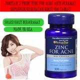 Top 10 Puritan S Pride Zinc For Acne 100 Caps Suplemen Kulit Anti Jerawat Online