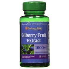 Harga Puritans Pride Bilberry Extract Kesehatan Mata 90 Softgels Puritan S Pride Terbaik