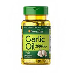 Puritan's Pride - Garlic Oil 1000 mg - 100 Softgels
