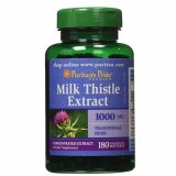 Situs Review Puritan S Pride Milk Thistle 4 1 Extract 1000 Mg Silymarin 180 Softgel