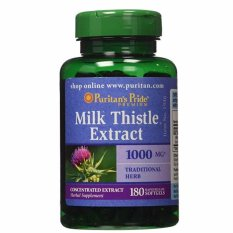 Jual Puritan S Pride Milk Thistle 4 1 Extract 1000 Mg Silymarin 180 Softgel Grosir