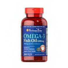 Spesifikasi Puritan S Pride Omega 3 Fish Oil 1200 Mg 360 Mg Active Omega 3 200 Softgels Bagus