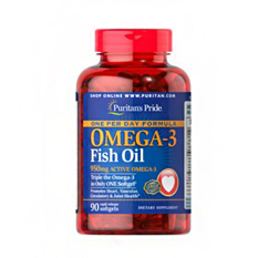 Harga Puritan S Pride One Per Day Omega 3 Fish Oil 1360 Mg 950 Mg Active Omega 3 90 Softgels Branded