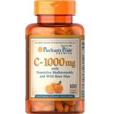 Jual Beli Online Puritan S Pride Vitamin C 1000 Mg With Bioflavonoids And Rose Hips 100 Kaplet