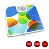 Q2 Timbangan Badan Manual Bathroom Scales Motif Warna Indonesia