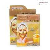 Beli Qiansoto 24K Gold Collagen Gold Modeling Mask 35Ml 1 Box Isi 6 Pcs Murah
