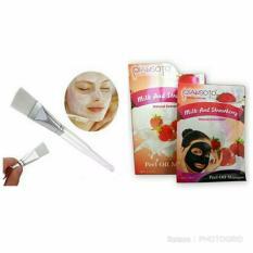 Rp 39.395. Qiansoto Masker Wajah Resmi BPOM Milk & Strawberry [3pcs] ...