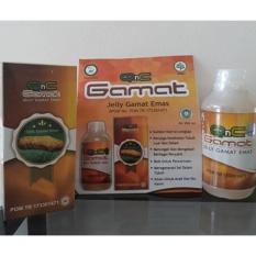 QnC Jelly Gamat 100% Original - Obat Batuk TBC, Obat Radang Paru Paru, Obat Flek Paru-Paru, Obat Paru Paru Basah / Kering