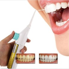 Quinnshop Portable Power Floss Dental Water Jet Cords Tooth Pick Braces No Batteries - intl