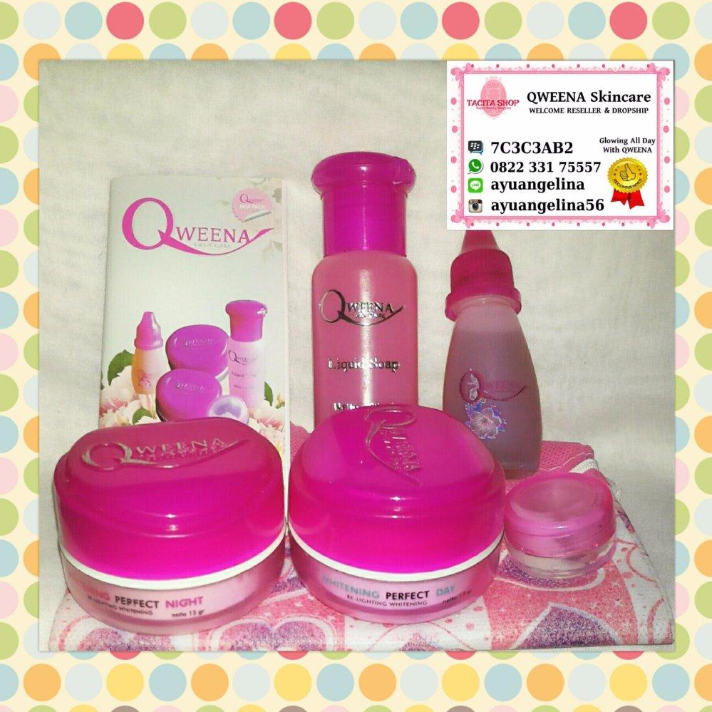 Qweena Skincare Original (Paket Acne / Jerawat)