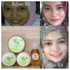 Diskon Ra Glow Paket Pengelupasan Cream Pemutih Wajah Racikan Dokter Universal Dki Jakarta