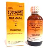 Beli Rdl Hydroquinone Tretinoin Babyface Toner Solution 2 Anti Acne Jerawat 60Ml Seken