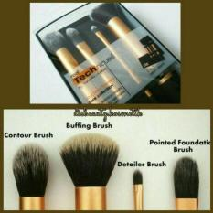 Real Technique Brush Set Core Collection - 2in1 Case + Stand