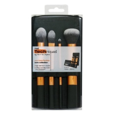 Real Teknik Core Collection 4 Pcs Makeup Brush Set-Intl