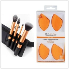 Berapa Harga Teknik Nyata Make Up Brushes Set Core Collection 4 Pcs Make Up Brushes 1403 4 Keajaiban Kulit Spons Kombinasi Penjualan Nb Intl Di Tiongkok