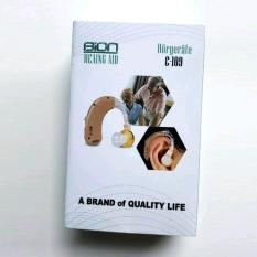 Harga Recharge Hearing Aid Model Bte Bion C109 Alat Bantu Dengar Bisa Di Charge C 109 Bion Asli