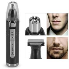 Toko Rechargeable Electric Hidung Telinga Rambut Pemangkas Alis Jenggot Mencukur Cutter Clipper Uni Eropa Plug Lengkap