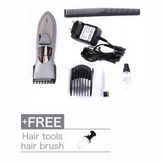 Jual Rechargeable Washable Electric Rambut Razor Trimmer Clipper Buy 1 Get 1 Free Hair Brush Intl Online Di Tiongkok