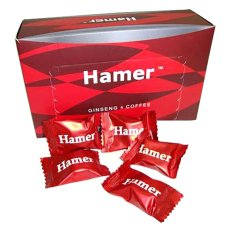 Red Ginseng Hamer Coffee Candy Energi Kesehatan 30Pcs Original