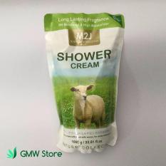 Jual Refill Shower Cream M2J 1000Ml Sabun Cair Pemutih Kulit N427 M2J Asli