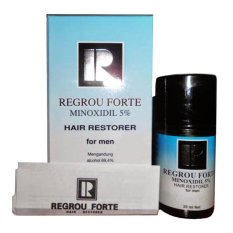 Review Terbaik Regrou Forte Minoxidil 5 Hair Restorer