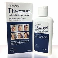 Cuci Gudang Restoria Discreet Colour Restoring Cream 150 Ml Original 100