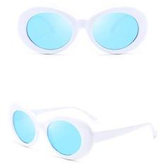 Beli Retro Cermin Oval Kacamata Unisex Uv400 Sunglasses Kurt Cobain Nirvana Intl Nyicil