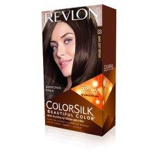 Revlon 3D Colorsilk 33 Dark Soft Brown - Cat Pewarna Rambut