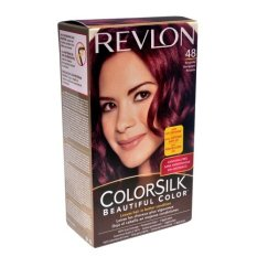 Revlon 3D Colorsilk 48 Burgundy - Cat Pewarna Rambut
