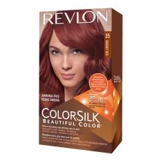Review Toko Revlon Cat Rambut Colorsilk Hair Color Vibrant Red 35 Online