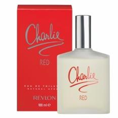 Revlon Charlie Red For Women Edt 100Ml Asli