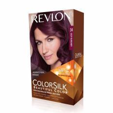 Harga Revlon Color Silk Hair Color Deep Burgundy Asli
